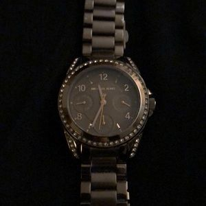 Chocolate gold Michael Kors watch
